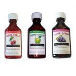 liquid hemp cbd syrup grape drank apple cherry sizzurp