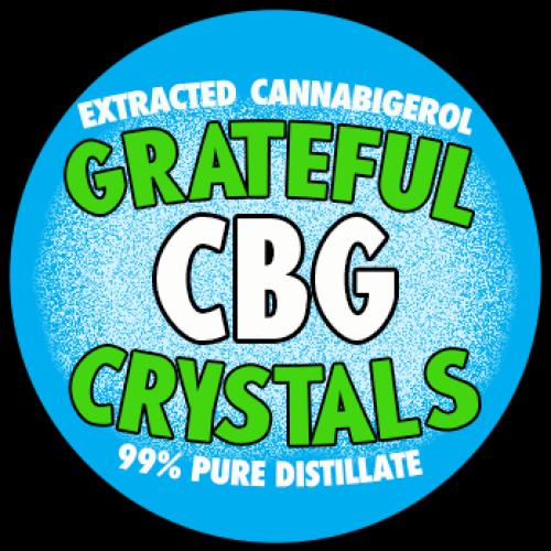 Pure CBG - Cannabigerol Extract Powder Isolate crystals co2