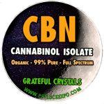 PURE CBN CRYSTALS EXTRACT POWDER DISTILLATE (CANNABINOL) isolate powder