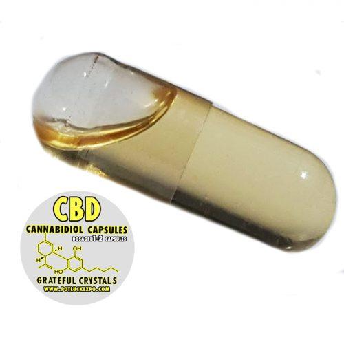 Hemp CBD Oil Capsules – Cannabidiol