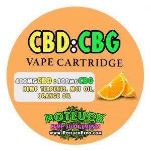 HEMP CBD CBG VAPE CARTRIDGE - FULL SPECTRUM BLEND + TERPENES, vape, cbd, shop, smoke, ecig